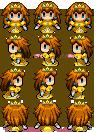 RPG Maker VX Sprite - Princess Daisy