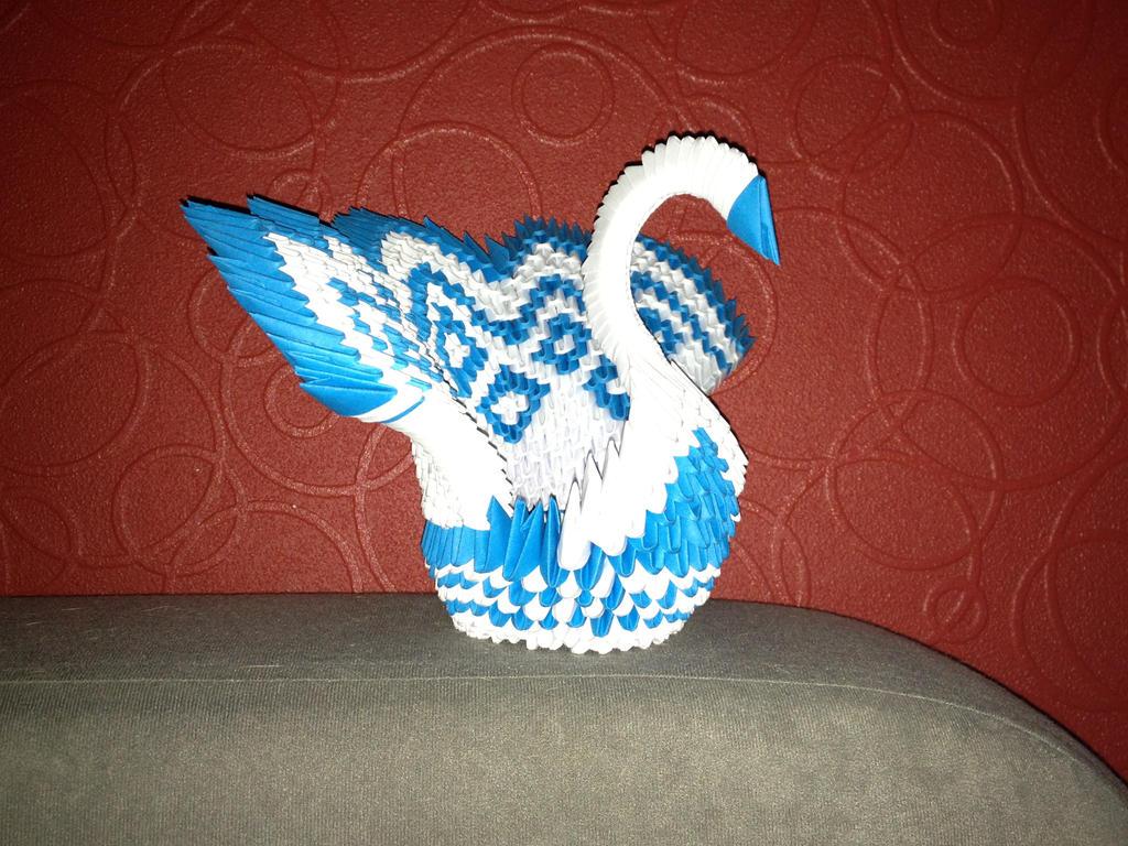 Origami Peacock by anubisgirl13 on deviantART - photo#28