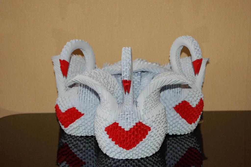 Three swans. by anubisgirl13