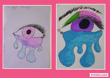 eye tears by Mamfaroonies