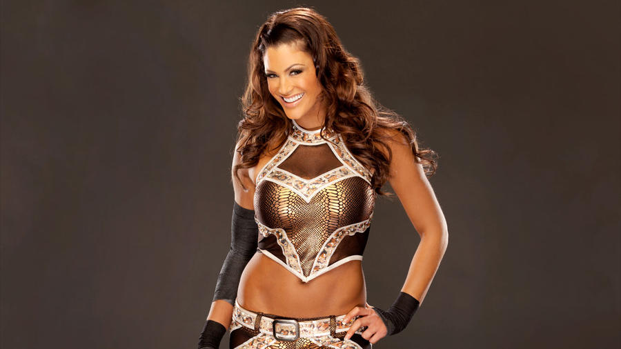Eve Torres Studio Pose By Wrestlingmedia