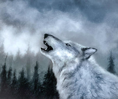 Winter Wolf by thelastofus1001