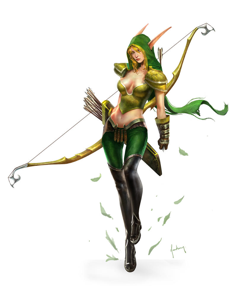 Alleria Windrunner by jasonlan