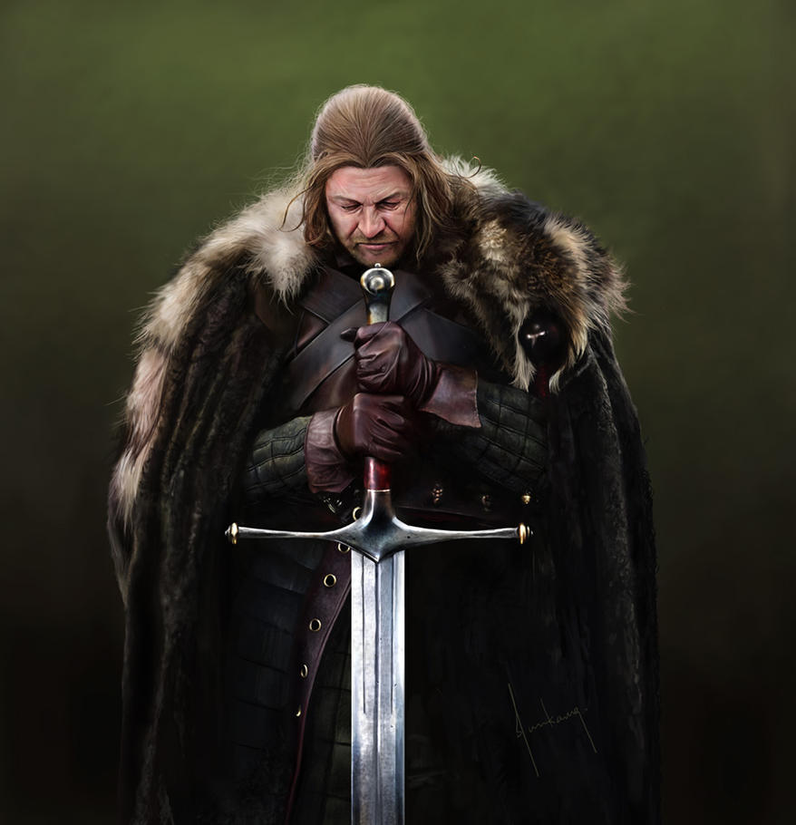 Eddard Stark by jasonlan