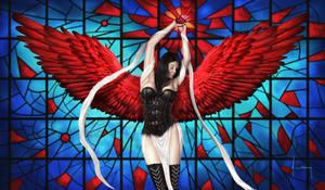 Blood Angel by jasonlanart