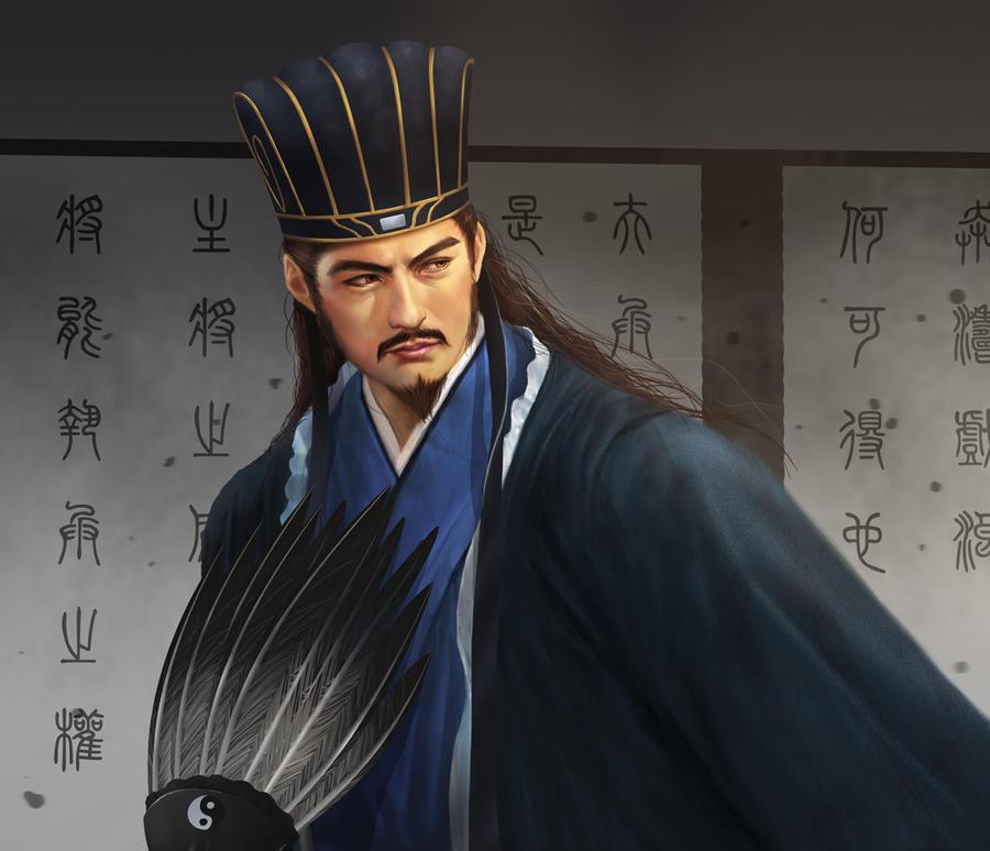 Zhuge Liang by jasonlan Zhuge Liang Wallpaper