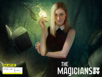 The Magicians Fan Art Contest by jasonlanart
