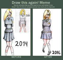 Draw This Again Challenge Thingy