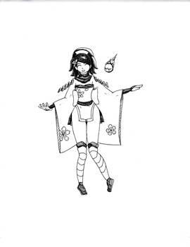 Momohime doodle