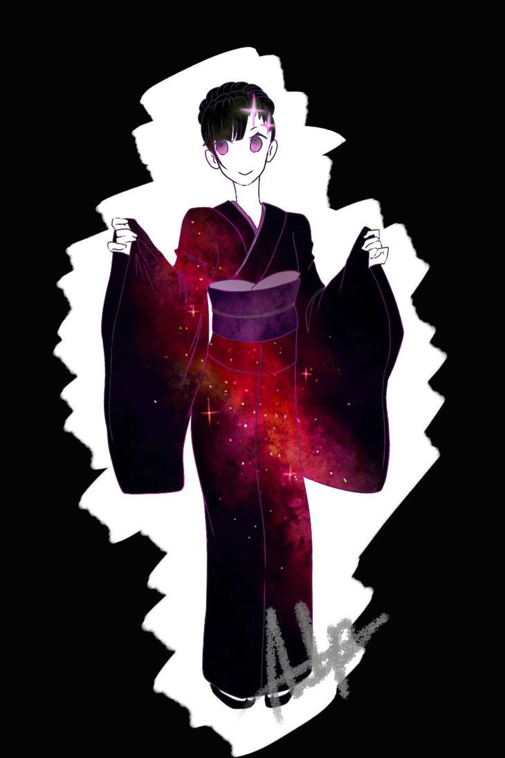 Galaxy Kimono by Otamegane1001