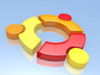 ubuntu logo by ghostcero