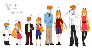 Age Ref for Dexter and Blossom