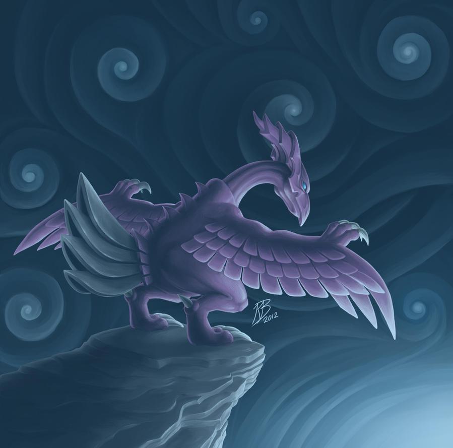 Fantastic Wallpaper Night Dragon - holy_night_dragon_by_crystalmewtwo-d5bc3i6  2018.jpg