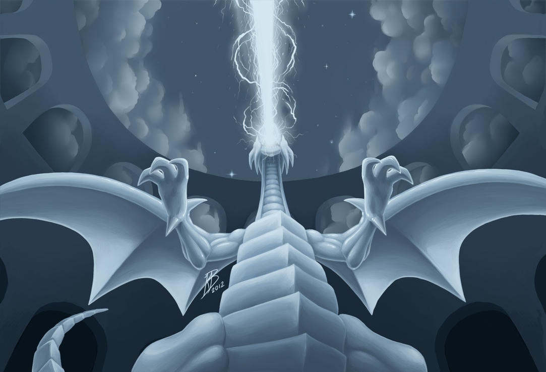 White Lightning Dragon Blue-eyes white dragon byBlue Eyes White Dragon White Lightning