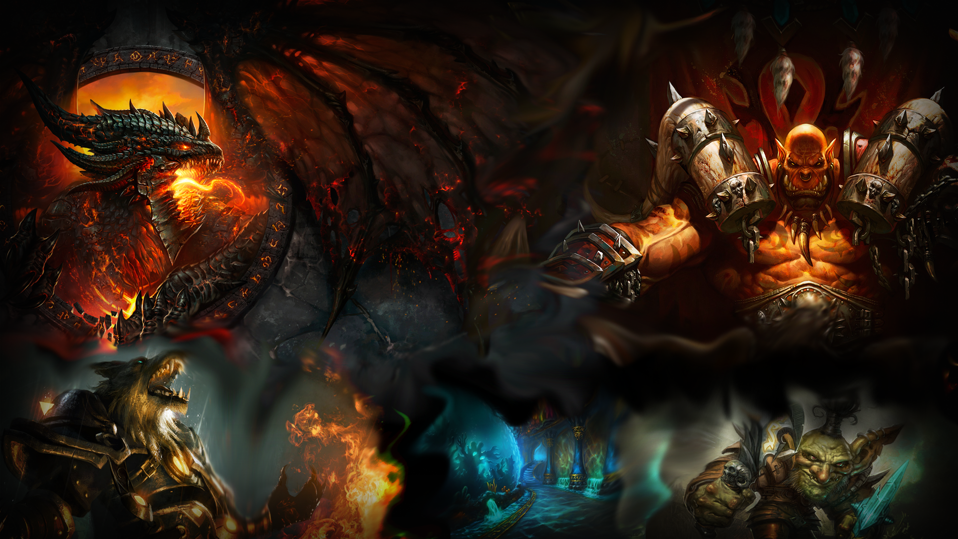 WoW Wallpaper 1920x1080 by CHIPINATORs