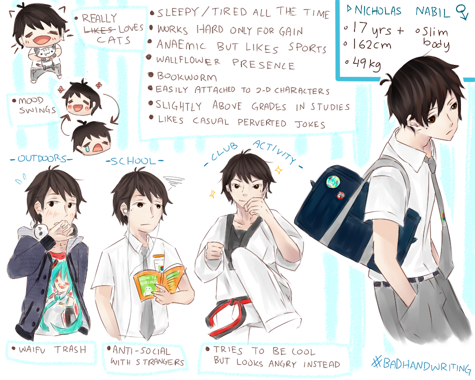 An Honest High School Male Student of Myself by shiroineko4