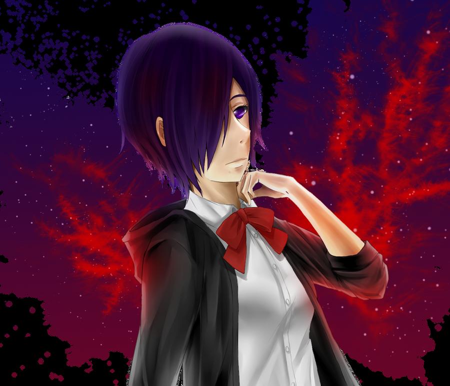 Kirishima Touka (Switcharound meme) by shiroineko4