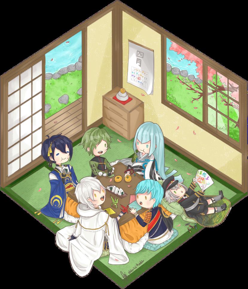 Touken Ranbu! by shiroineko4