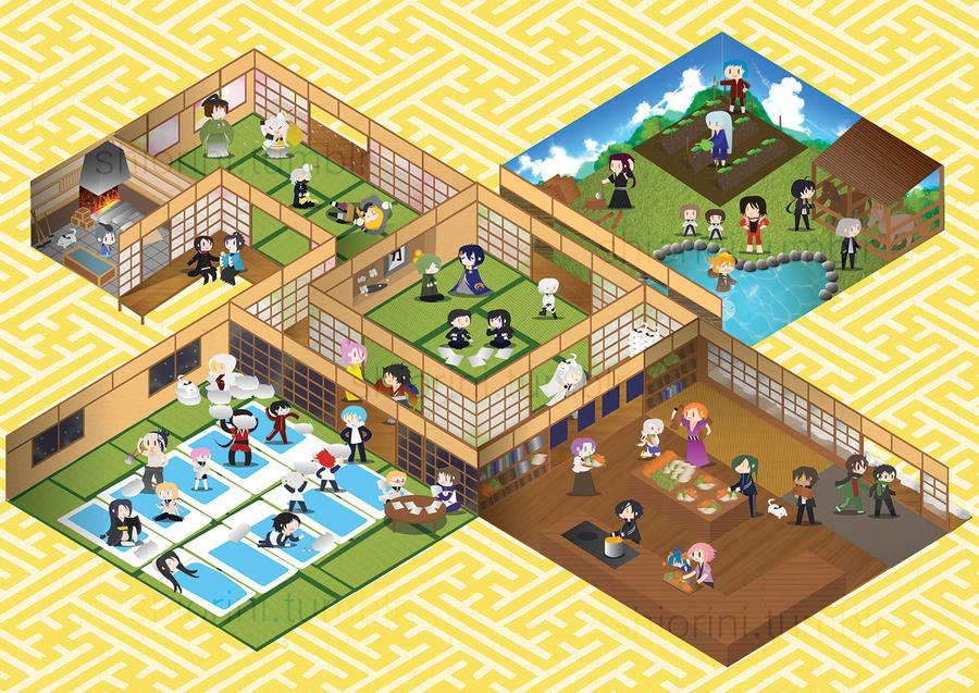 Bustling Citadel! by shiroineko4