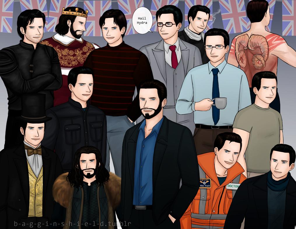 Richard-characters by Kiri-Yami