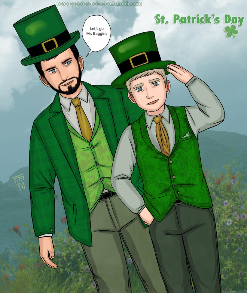 St-patricks day Richartin! by Kiri-Yami