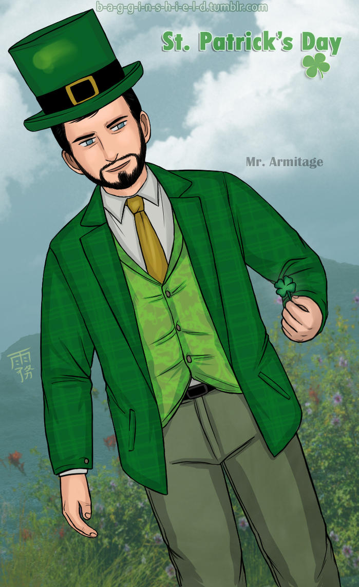 St Patrick's Day- Richard by Kiri-Yami