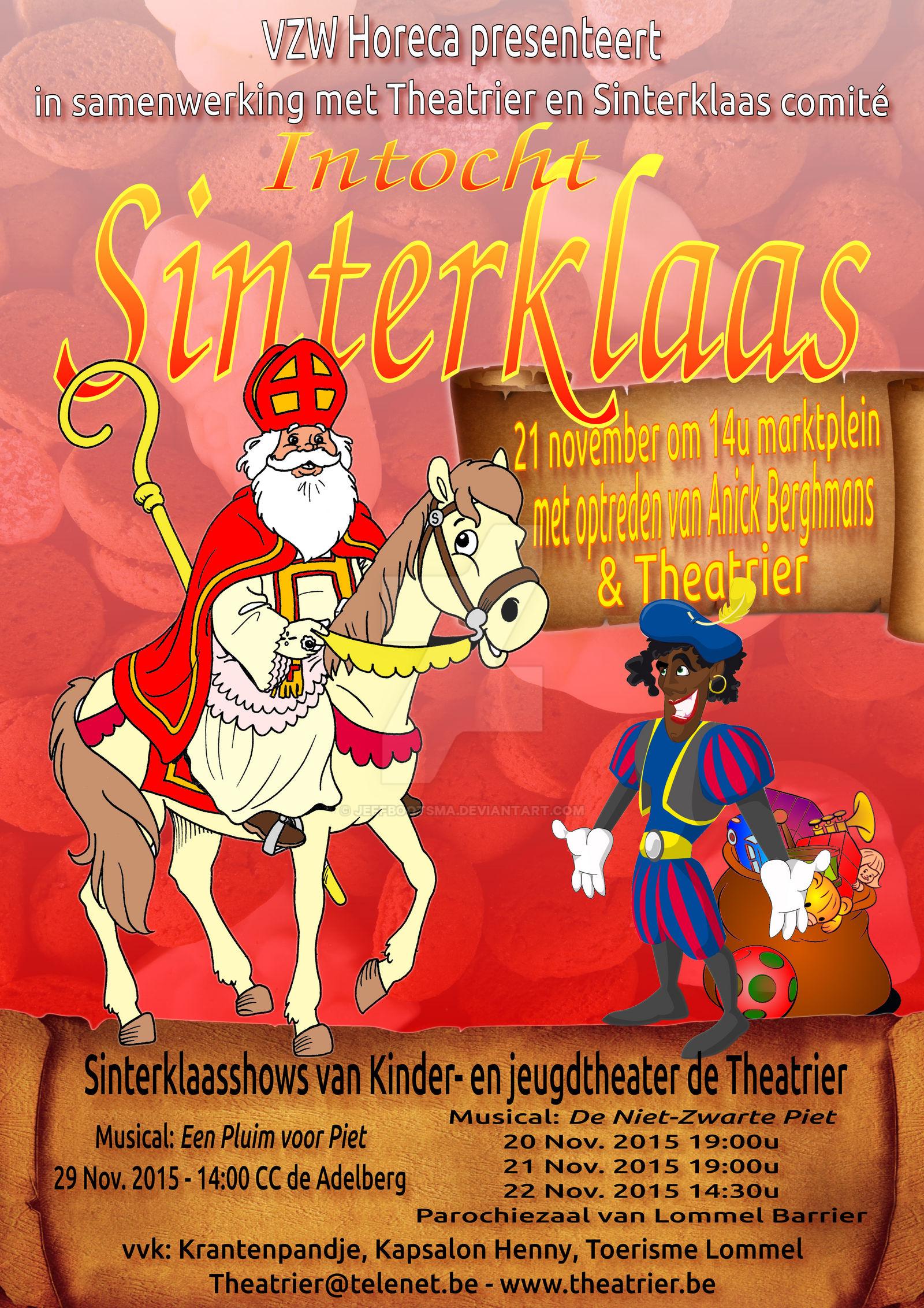 Sinterklaas Poster Design By Jeffbootsma On Deviantart
