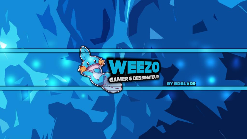 weezo youtube banner by belgiangrapher on deviantart
