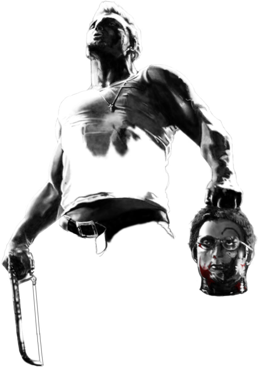Marv from Sin City by Wiwewo on DeviantArt