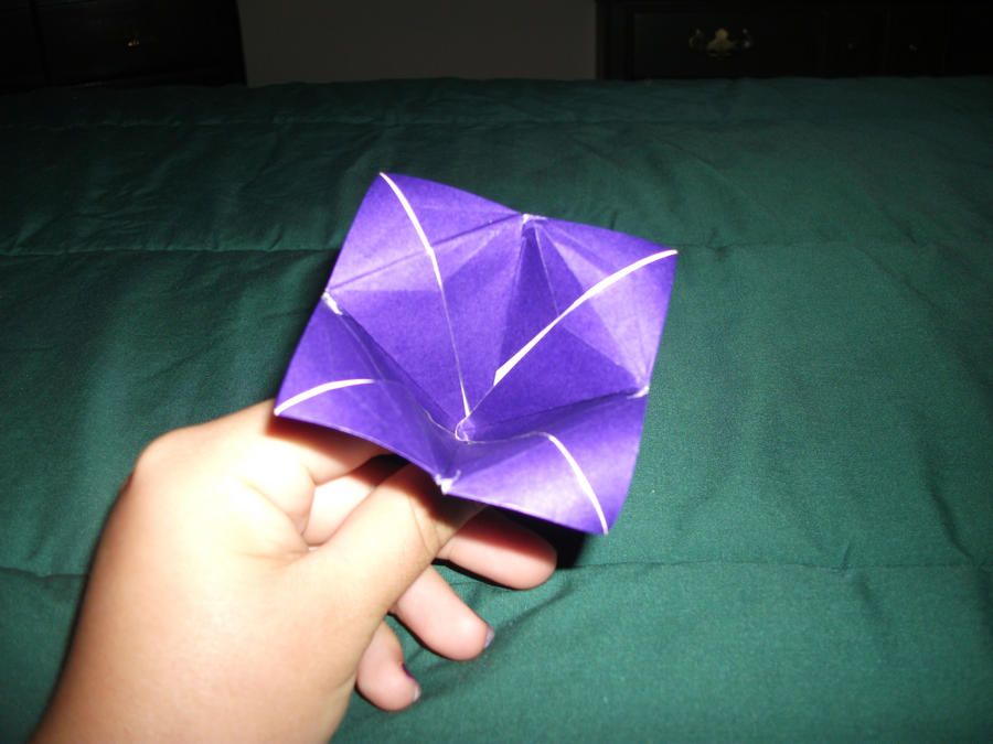 Origami bell flower by nightangel21 on deviantart origami bell flower by nightangel21 mightylinksfo