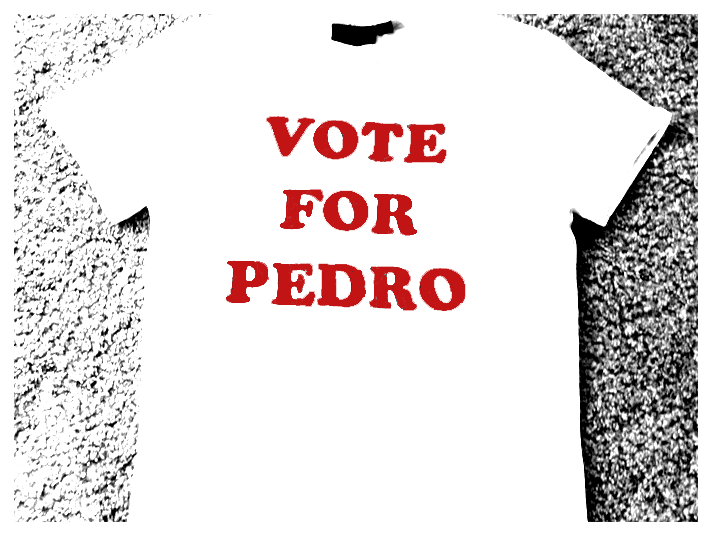 Vote For Pedro By GrowingUpNextMonday On DeviantArt