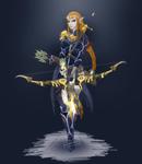Warrior Princess Zelda -Color-