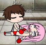 Gacha Club Boxing Paul vs Judith