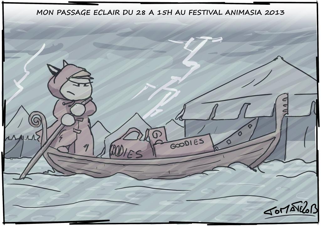 Festival Animasia 2013 Bulle de tomatecanibal 32 by tomatecannibal