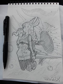 Makku_TERA_Mystic_by_Tomatecannibal
