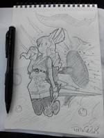 Makku_TERA_Mystic_by_Tomatecannibal by tomatecannibal