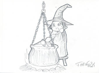 Witch_by_Tomatecannibal