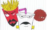 Aqua Teen Hunger Force Drawing