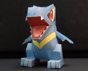 Totodile Papercraft!