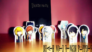 Death Note Finger Puppets