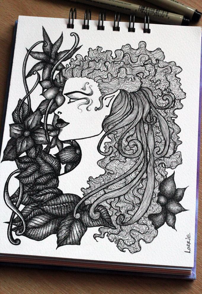Sketchbook: November 2011 by LorrieWhittington
