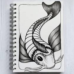 Inktober 2020: Fish