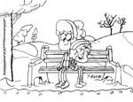 Winter Affection (Luan and Benny) by J-Room