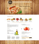 Italian Food Online Restaurant Template