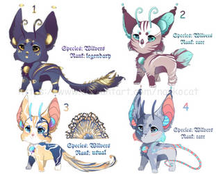 adopt OPEN auction !closed species! by NarkoCat