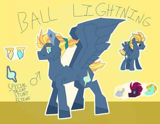 Mlp ng Ball Lightning bio