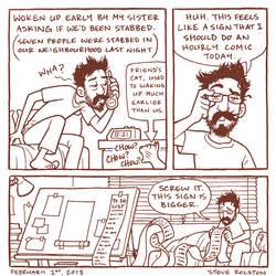 Not an Hourly Comic by steverolston