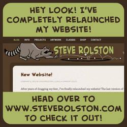 New Website! by steverolston