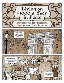 Living on $1000 a Year in Paris