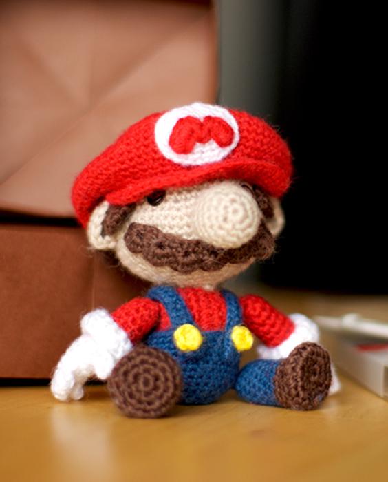 Amigurumi Super Mario Pattern : Amigurumi Mario Sackboy by Veka37 on DeviantArt